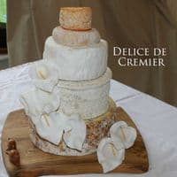 Delice De Bourgogne Cheese, really creamy French Cheese